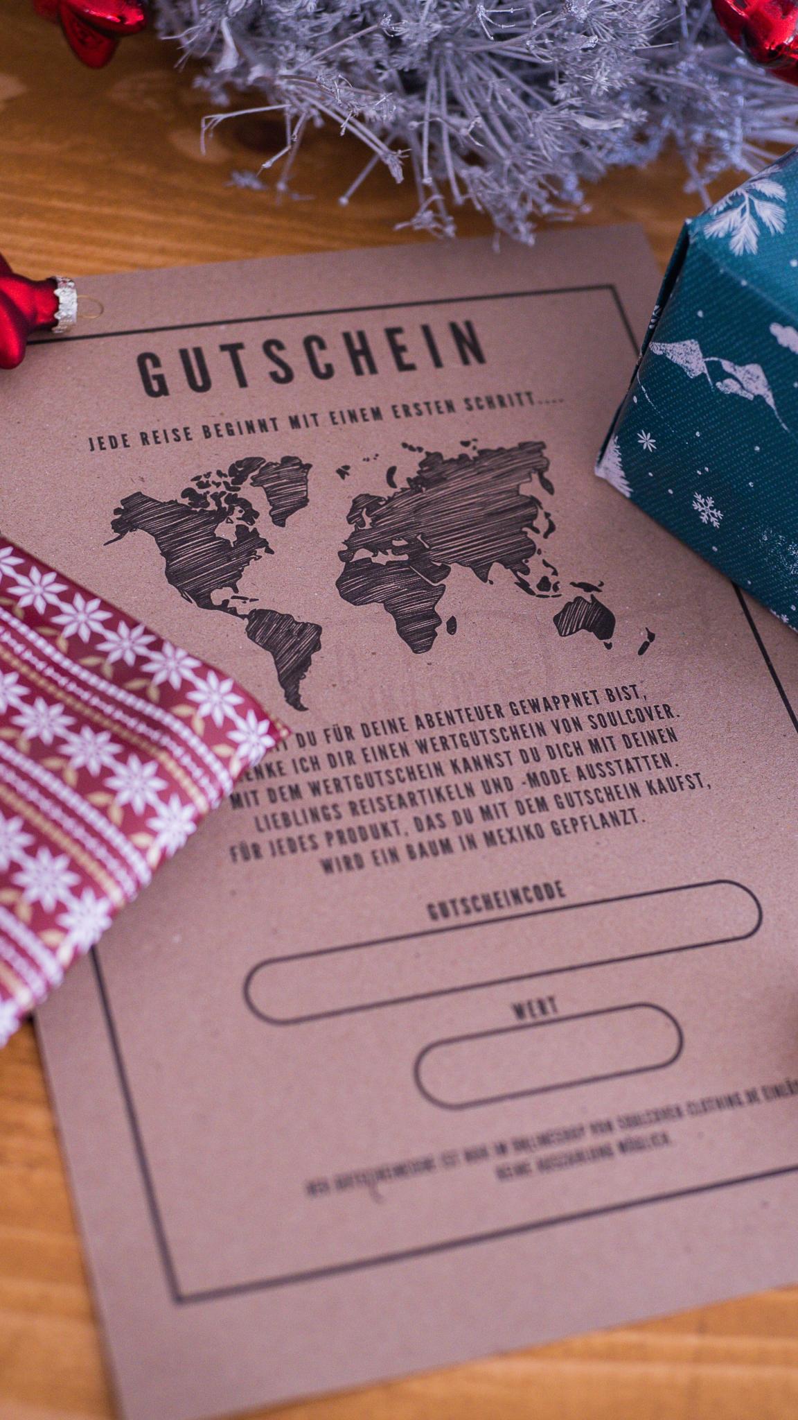 Gutschein, Soulcover, Geschenkidee, Gutschein