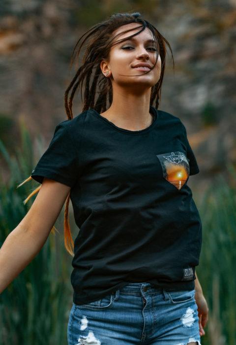 Sunset T-Shirt, Sonnenuntergang, T-Shirt, Sonnenuntergang T-Shirt, Weltenbummler T-Shirt, Urlaubs T-Shirt, Reise T-Shirt,