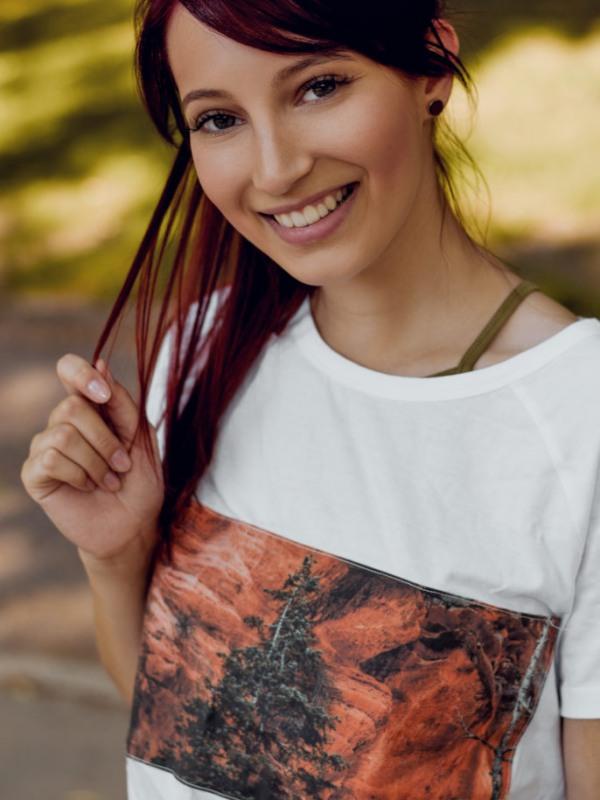 Canyon T-Shirt, Zions Nationalpark, Canyon Shirt, Reise Shirt, Wander Shirt, Hike Shirt, Abenteuer Shirt, Westküste, USA, Canyon, Angels Landing