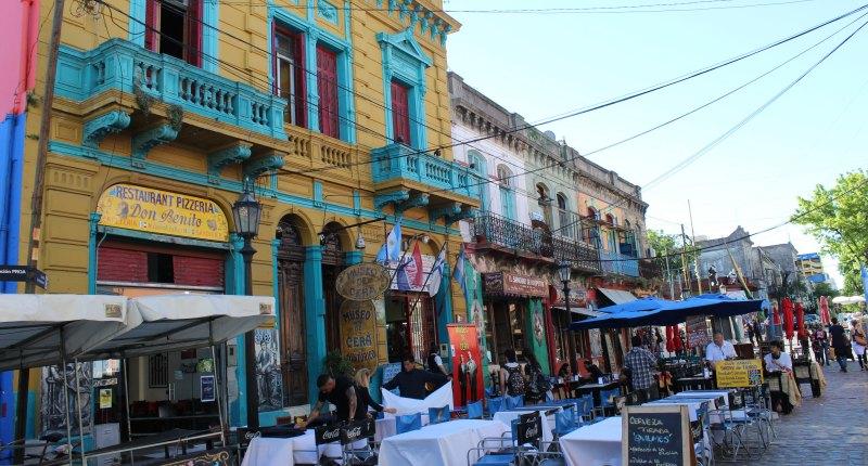 Jedes Viertel in Buenos Aires hat seinen eigenen Charme