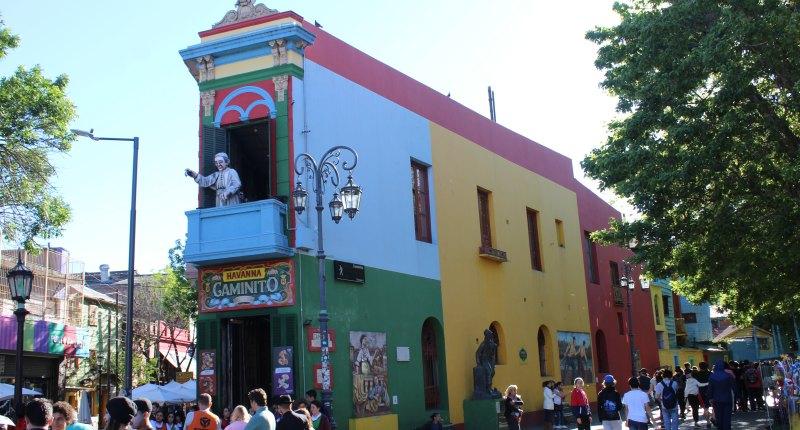 In La Boca das argentinische Flair erleben