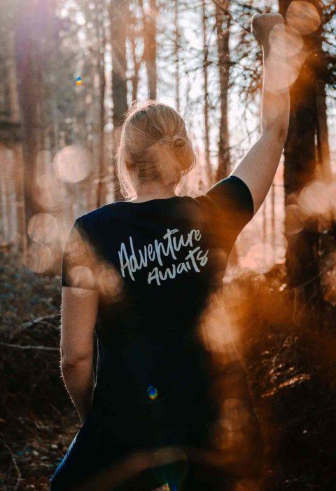 Adventure Awaits Shirt Ladies