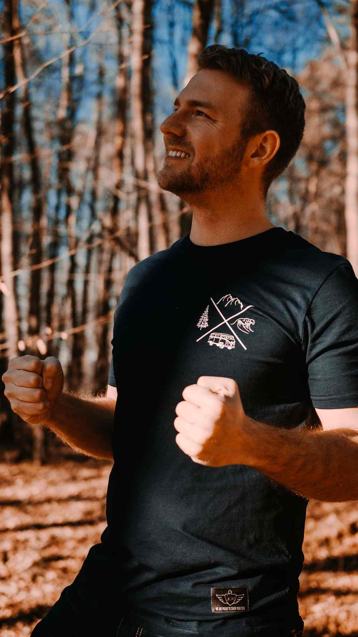 Adventure Awaits Shirt Men
