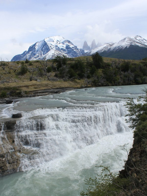 Nationalpark Torres del Paine Aussichtspunkt_Cascado_Rio Paine