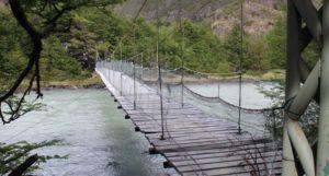Nationalpark Torres del Paine Brücke_Wanderweg_Glacier_Grey