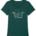 Surf Van T-Shirt Ladies, Frauen, Van, Palmen, Palm, Wellen, Wave, Welle, Surf, Surfen, Surfbrett, Sonne, Vögel, Palmtree, Vanlife, Vanlife Clothing, Surf Clothing, Surfing, Siebdruck weiß, Bio-Baumwolle, Baumpflanzen, 1 Baum pro Shirt wird gepflanzt, Medium Fit, tallierter Schnitt, , shirt, t-shirt, graphic tee, pfefferminz