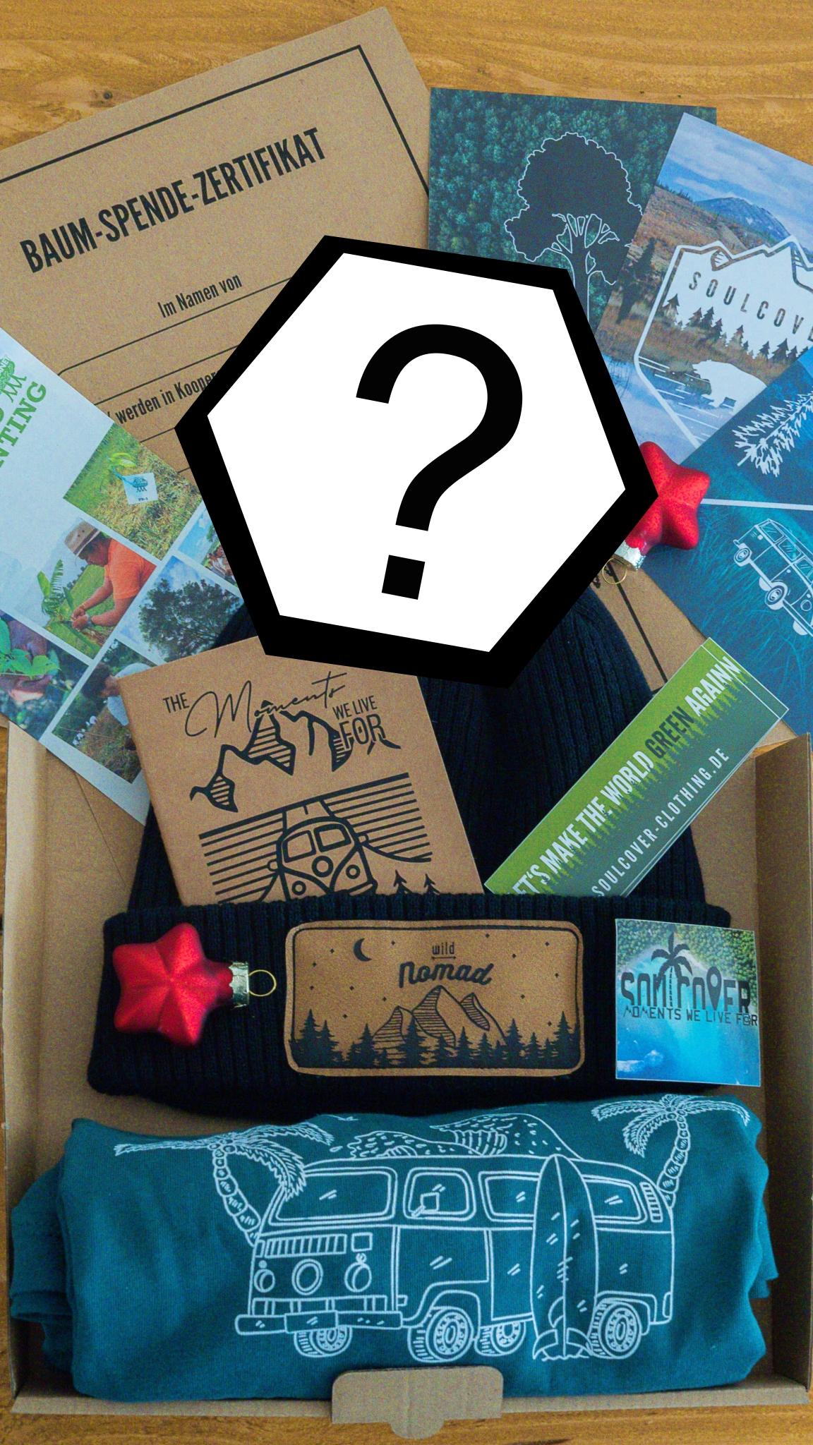 Soulcover Surprise Box, Überraschungsbox, Überraschung, Zufall, Wundertüte